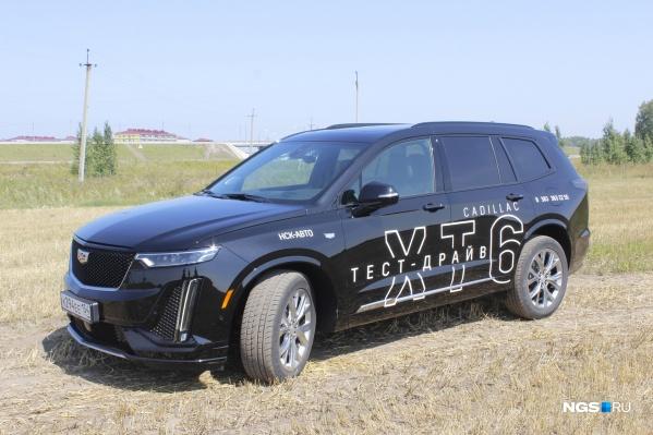 Так выглядит Cadillac XT6