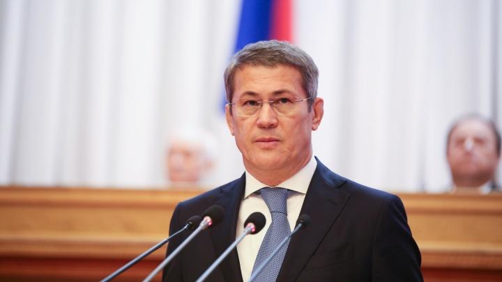 Радий Хабиров высказался об объединении УГАТУ и БашГУ