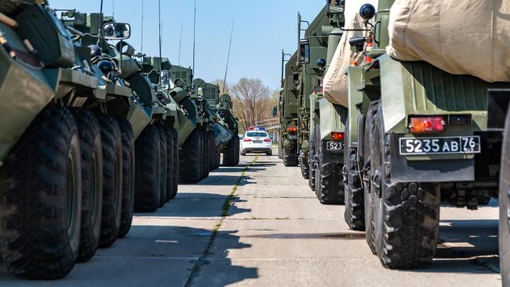 Военные раскрыли количество участников военного парада в Самаре