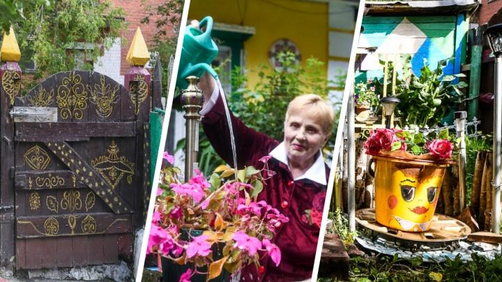 Здесь снимали «Алису в стране чудес»: екатеринбурженка превратила дом в сказку