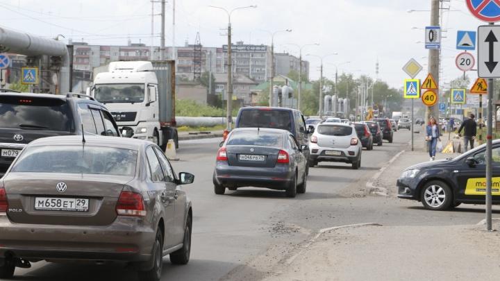 Московский проспект в Архангельске частично перекроют из-за аварии на теплотрассе