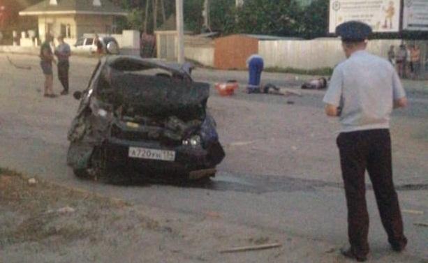 В Волгоградской области «Лада-Калина» протаранила бетонное ограждение: погибшая и раненый