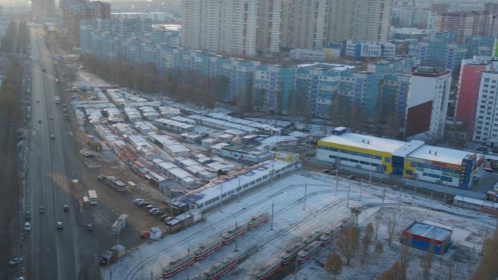 На месте рынка на Барбошиной Поляне предложили построить транспортно-пересадочный узел