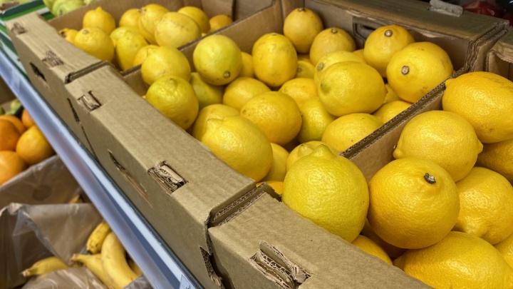 В Волгограде рухнули цены на имбирь и лимоны