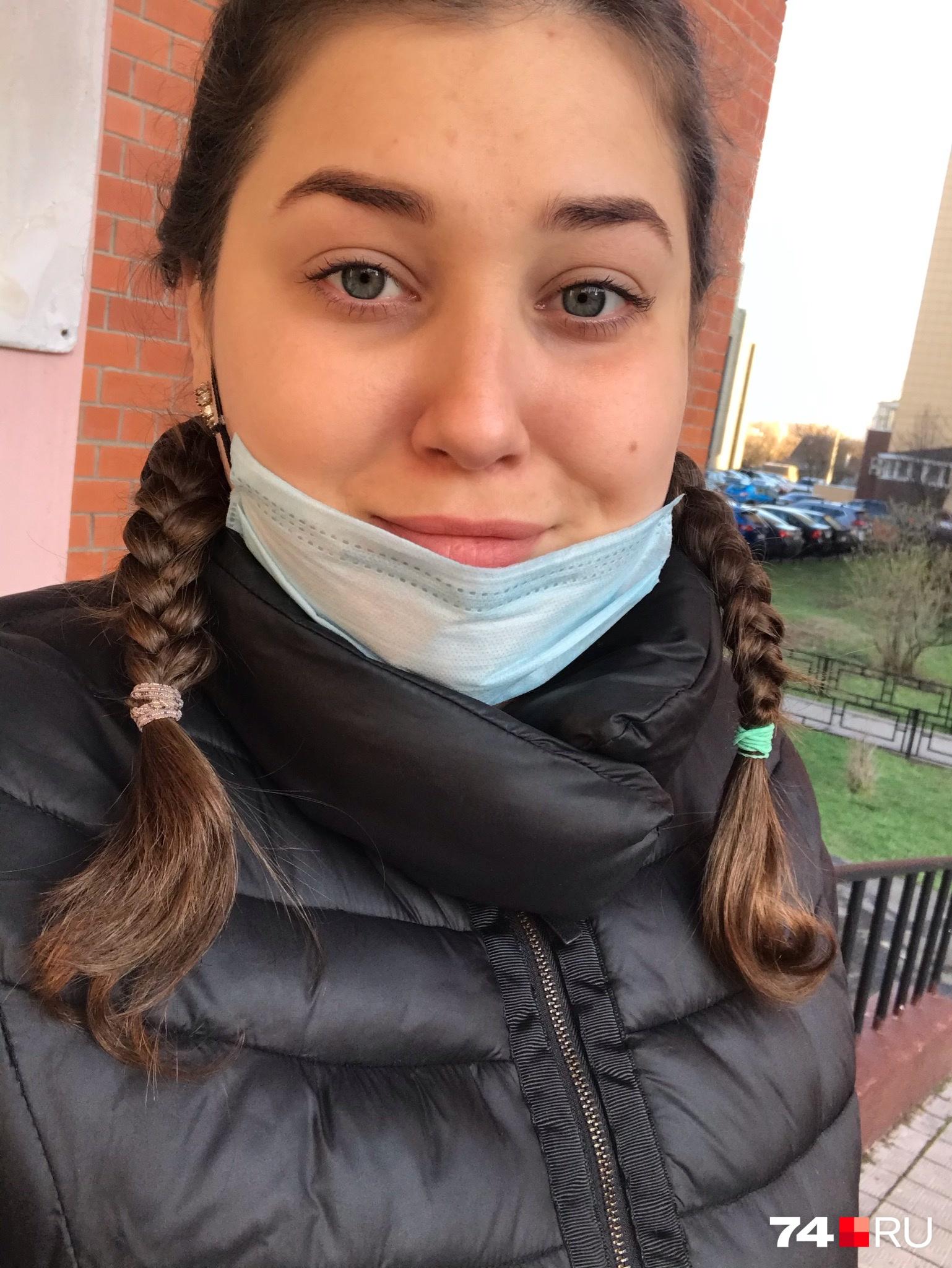 Анна соблюдает в общественных местах все необходимые меры предосторожности, но они от «ковида» её не уберегли