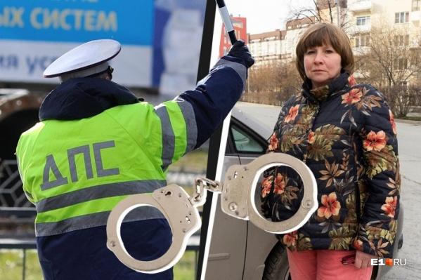 После жесткого задержания у 51-летней Ольги Пряхиной появились ушибы и гематомы