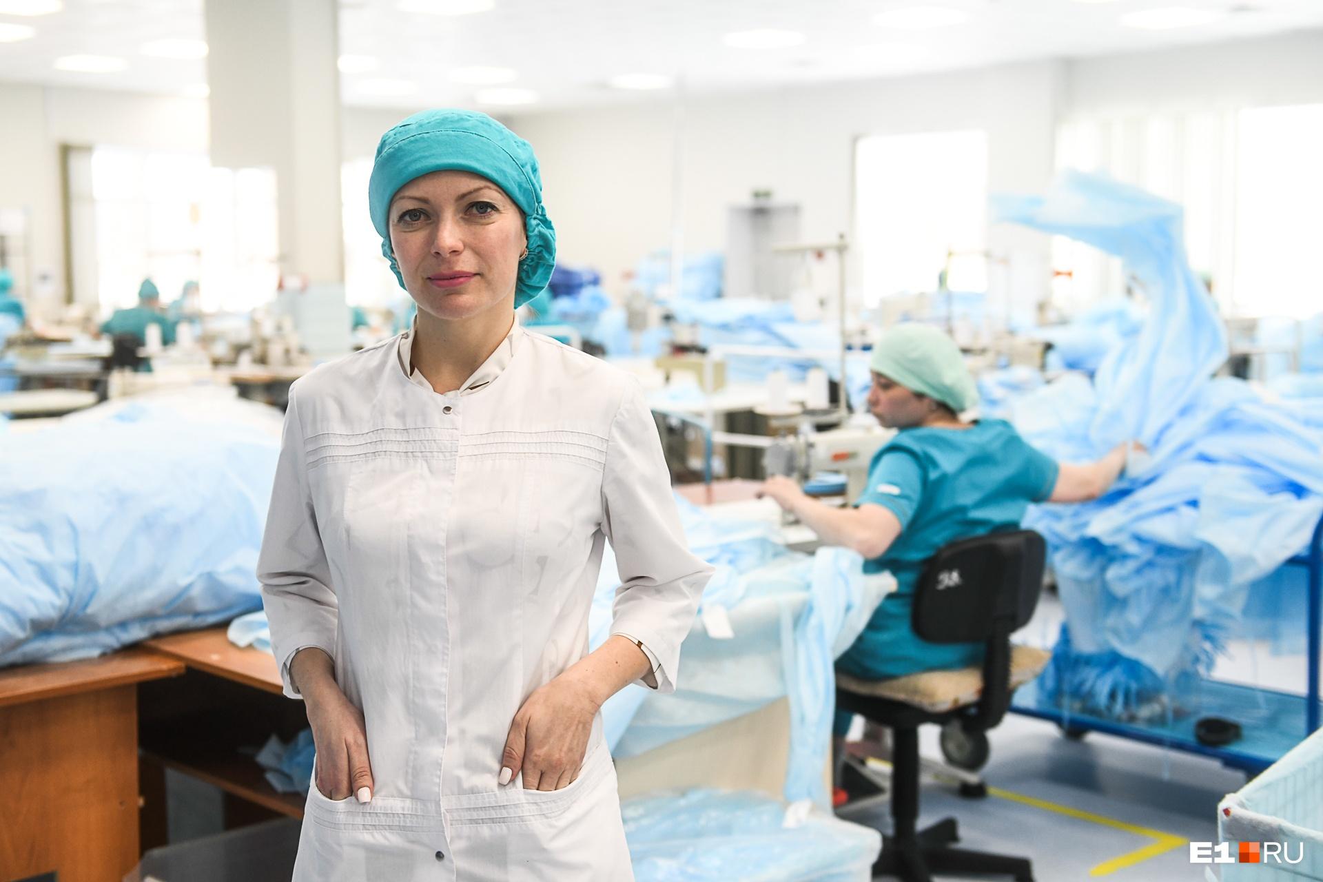 Ирина Кочнева рассказывает, что есть клиенты, готовые покупать по два-три миллиона масок