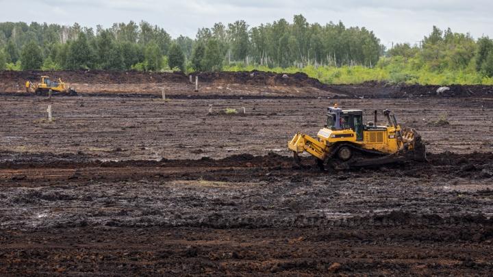 В поле под Челябинском начали строить инфекционную больницу для лечения ковида и других заболеваний