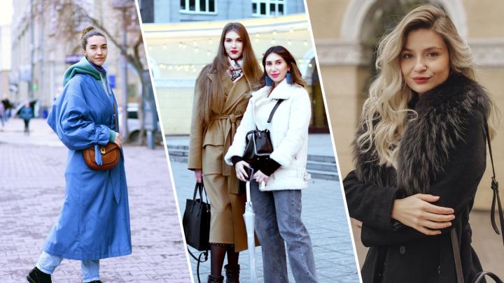 «Дорого, даже не буду говорить»: 10 стильных сибирячек на улицах — о том, как утеплиться красиво и сколько это стоит