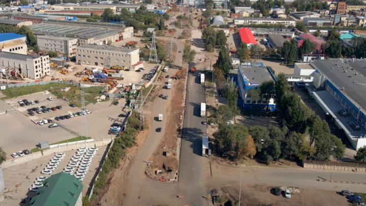 Намечается дорога: самарец показал реконструкцию Заводского шоссе с высоты