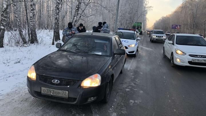 В Тюмени поймали молодого водителя, который 45 раз превысил скорость