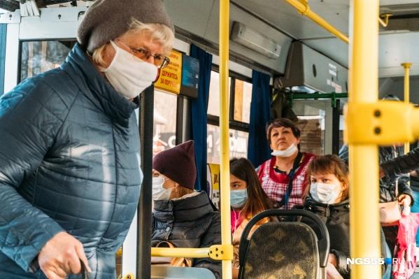 Скоро в автобус нельзя будет войти без маски
