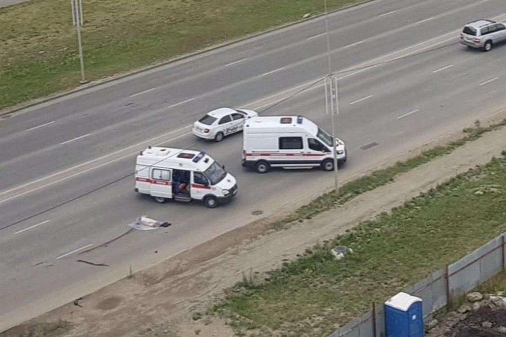 От полученных травм мужчина умер на месте ДТП