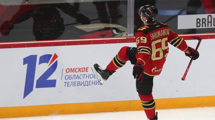 «Авангарду» хватило одного периода, чтобы обыграть московское «Динамо»