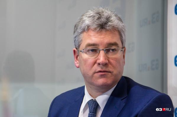 Виктор Кудряшов сейчас исполняет обязанности губернатора