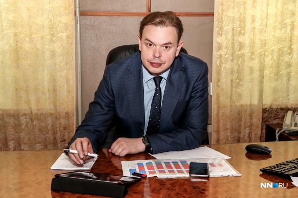 В Нижегородскую область Сергей Злобин приехал после работы в правительстве Пермского края