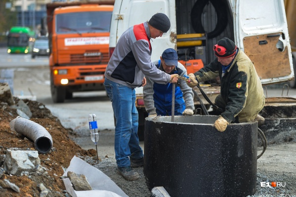 Строители закроют движение на Уралмаше и Эльмаше