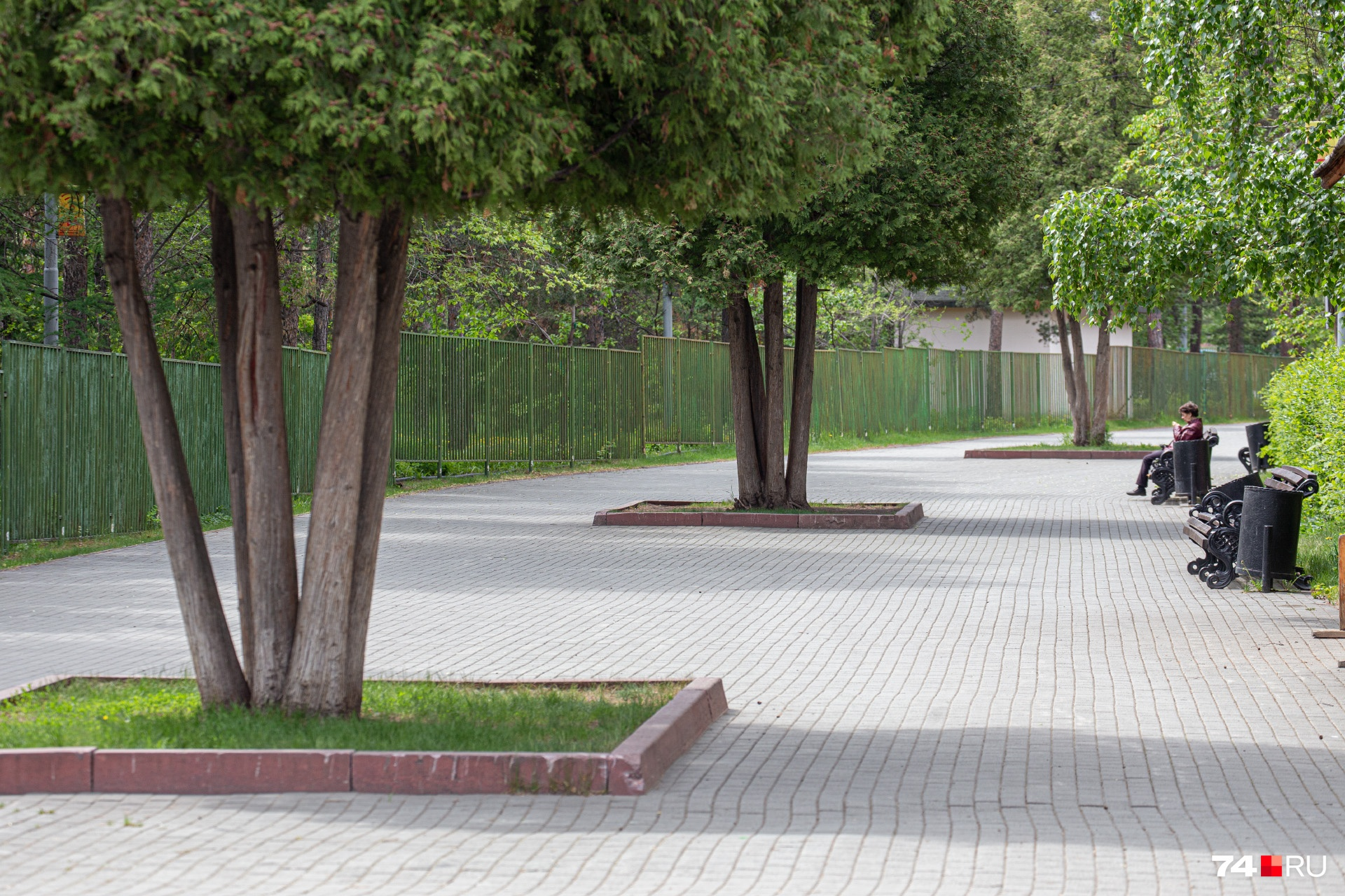Челябинск уже полгода ждет концепции развития парков