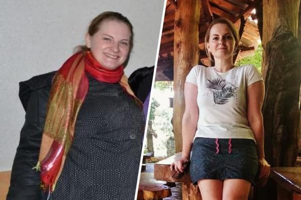 Раньше Женя даже фотографироваться не любила: фото до (слева) едва ли не единственное в ее архиве