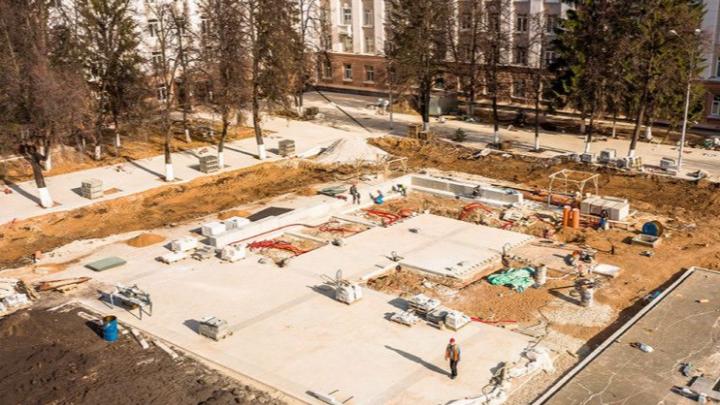 Новый фонтан на Советской площади в Уфе будет поющим