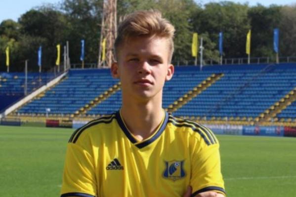 В матче против «Сочи» Максим Ставцев провел на поле 10 минут
