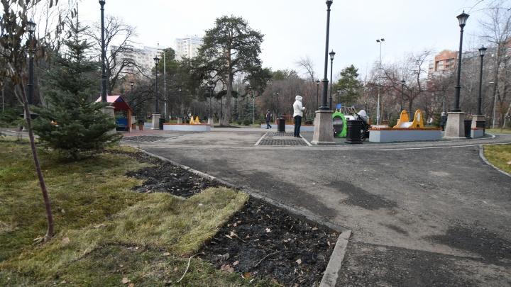 «Хоть закрывай парк и никого не пускай»: как выглядит Зеленая Роща после реконструкции