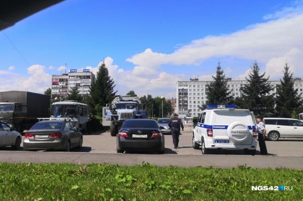 Заявление на проведение митинга транспортники подали 20 июля, 23-го им пришел отказ