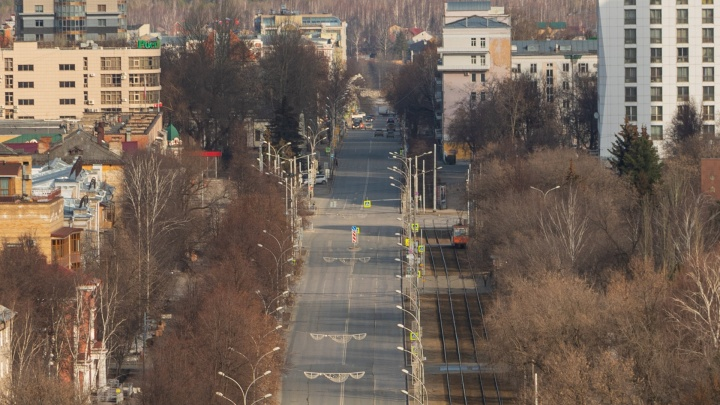 Пермь удерживает первое место по индексу самоизоляции среди городов-миллионников