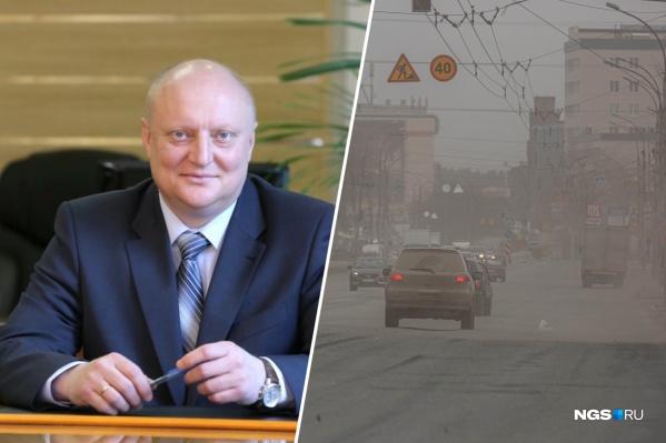 Олег Клемешов в июле прошлого года был назначен исполняющим обязанности заместителя мэра Новосибирска по городскому хозяйству