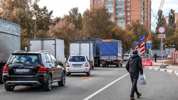Рядом со строящейся развязкой на Циолковского отремонтируют соседние дороги