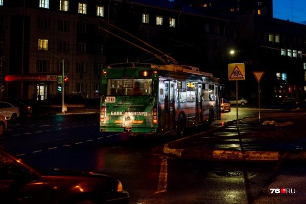 Общественный транспорт в Ярославле в День города будет работать допоздна