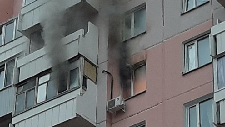 В многоэтажке на Левом берегу произошёл пожар из-за неисправной электроплиты