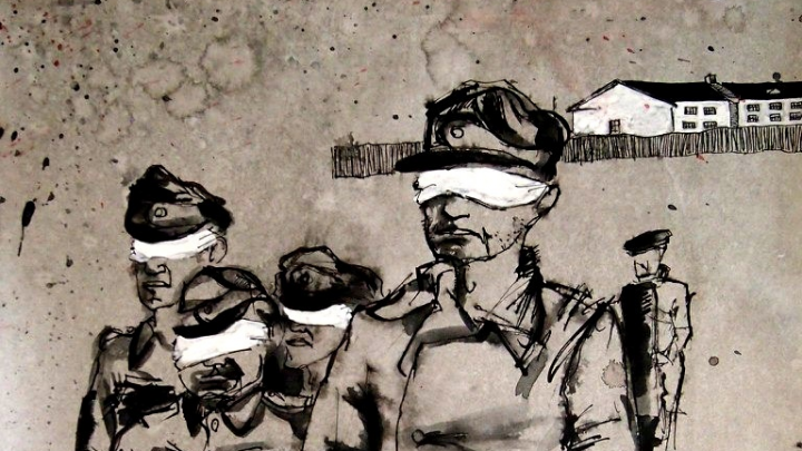 «Смерть всегда уродлива»: взгляд архангельского художника на войну. Рассматриваем его картины