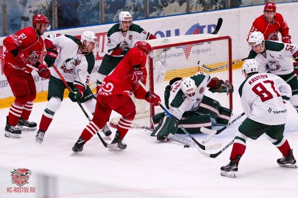 Ростовчане одержали одну победу в трех матчах