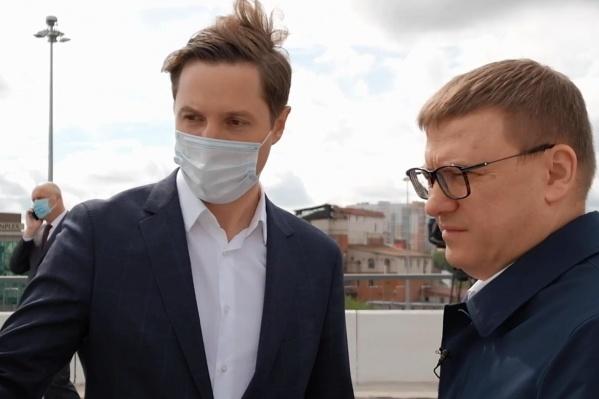 Алексей Текслер потребовал, чтобы дороги строили быстрее