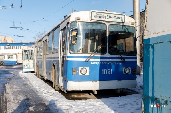 Списывать будут давно отслужившие свое трамваи и троллейбусы
