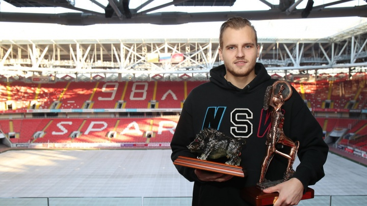 Болельщики «Спартака» признали ростовчанина Максименко лучшим футболистом сезона