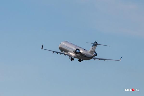 Покружив над Платовым, «заминированный» самолет ушел на Симферополь