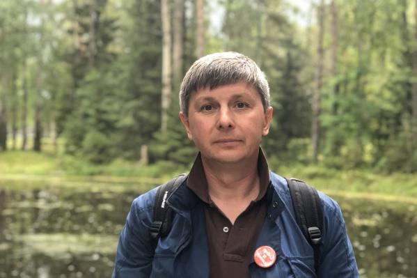 Олег Мандрыкин выдвинулся от партии «Яблоко»