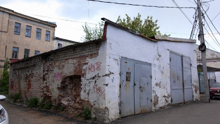 Мэрия выставила на продажу старый гараж по цене двушки в центре Ярославля