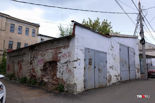 Этот гараж продаёт мэрия Ярославля