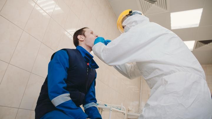 На предприятии «Полюс Золото» выявили 866 случаев коронавируса
