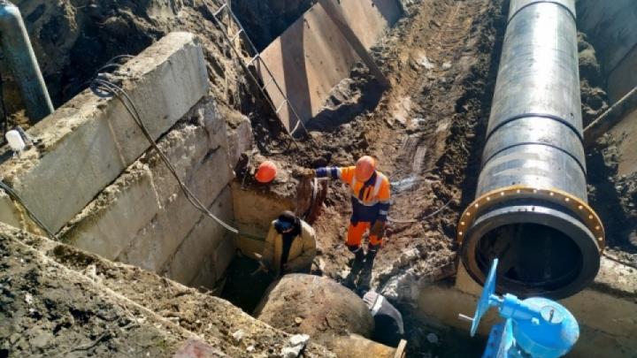 В Кургане из-за аварии на очистных сооружениях масштабное отключение воды
