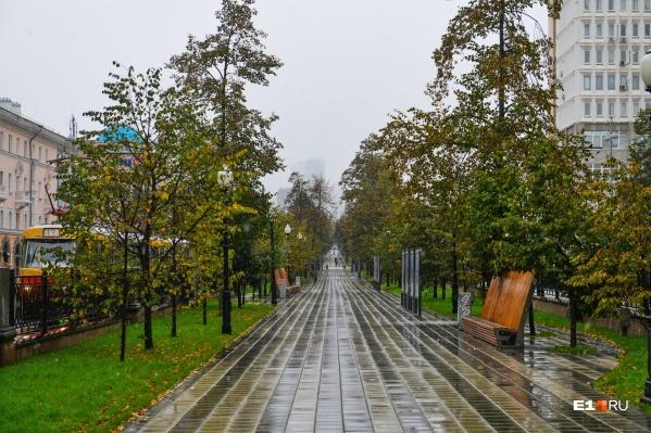 Новая неделя в Екатеринбурге будет дождливой