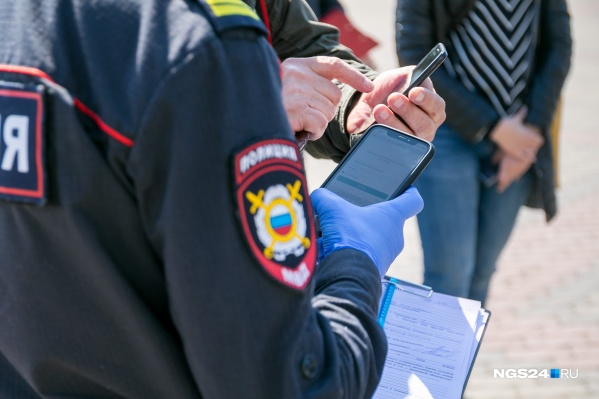 Электронные пропуска в Красноярске проверяют вторую неделю