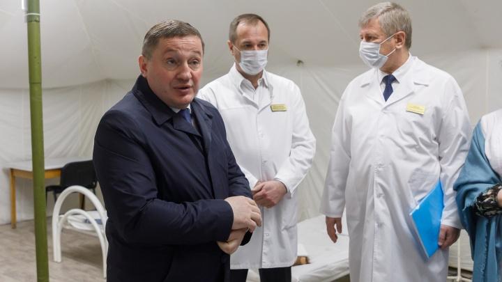 «У нас нет успокоения»: волгоградский губернатор ожидает ухудшения ситуации с COVID-19
