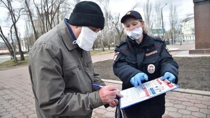 В Кировском округе водителя оштрафовали на 1000 рублей за нарушение режима самоизоляции
