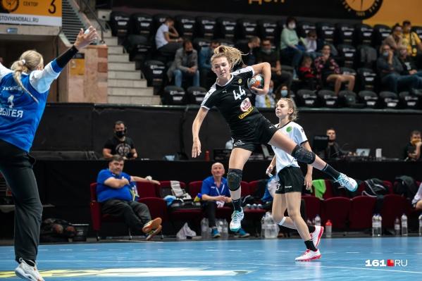 В матче против команды из Адыгеи проявила себя Валерия Собкало