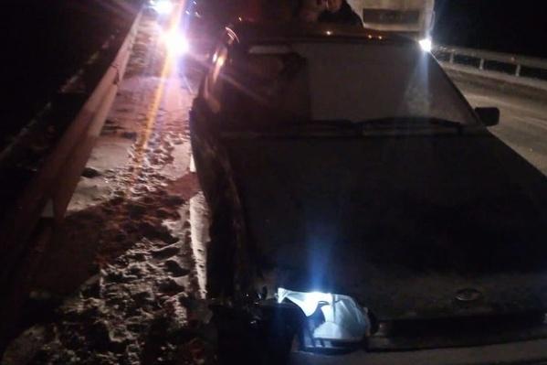 На участке дороги Уфа — Оренбург произошло два ДТП с участием 4 автомобилей
