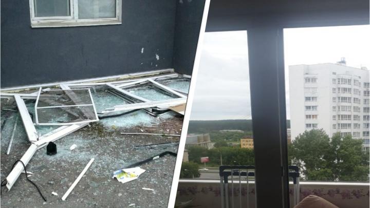 В екатеринбургской квартире взорвался парафин: ударная волна вынесла балконную раму